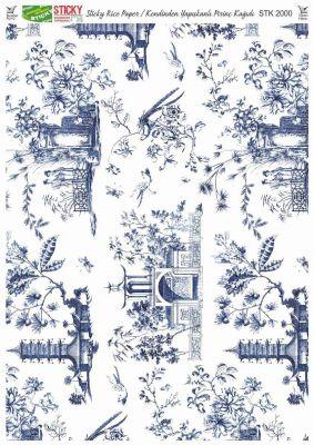 Rich Kendinden Yapışkanlı Pirinç Kağıdı - 29 x 42 cm - 2000