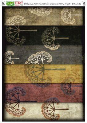 Rich Kendinden Yapışkanlı Pirinç Kağıdı - 29 x 42 cm - 2160