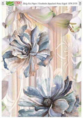Rich Kendinden Yapışkanlı Pirinç Kağıdı - 29 x 42 cm - 2175