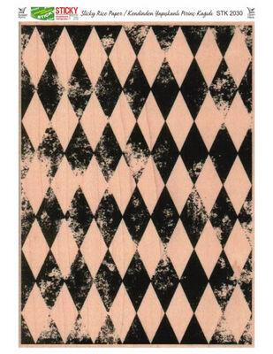 Rich Kendinden Yapışkanlı Pirinç Kağıdı - 29 x 42 cm - 2030