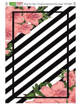 Rich Kendinden Yapışkanlı Pirinç Kağıdı - 29 x 42 cm - 2043