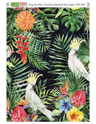 Rich Kendinden Yapışkanlı Pirinç Kağıdı - 29 x 42 cm - 2091