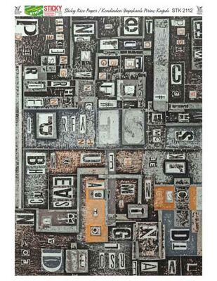Rich Kendinden Yapışkanlı Pirinç Kağıdı - 29 x 42 cm - 2112