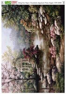 Rich Kendinden Yapışkanlı Pirinç Kağıdı - 29 x 42 cm - 2059