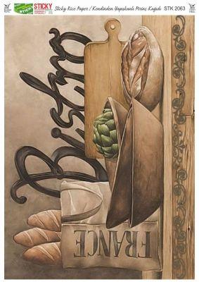 Rich Kendinden Yapışkanlı Pirinç Kağıdı - 29 x 42 cm - 2063