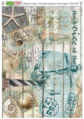 Rich Kendinden Yapışkanlı Pirinç Kağıdı - 29 x 42 cm - 2180
