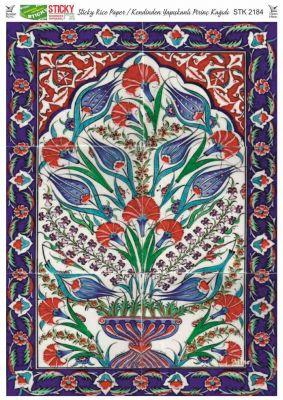 Rich Kendinden Yapışkanlı Pirinç Kağıdı - 29 x 42 cm - 2184