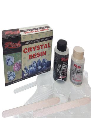 RICH - Rich Kristal Reçine - Şeffaf - 130 cc + 65 cc / Set