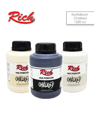 RICH - Rich Multi Decor Chalked Akrilik Boyalar - 1750 gr / 1250 cc