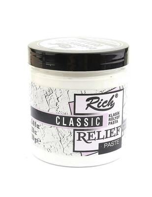 RICH - Rich Rölyef Pasta 350 Gr - Beyaz
