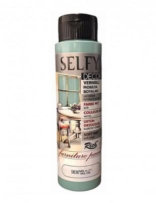 Rich Selfy Decor Vernikli Boyalar - 500 cc - Thumbnail