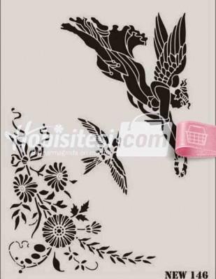 RICH - Rich Stencil - 25 x 35 cm - NEW 146