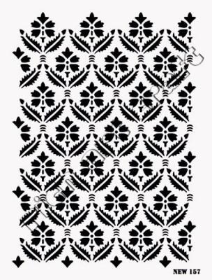 RICH - Rich Stencil - 25 x 35 cm - NEW 157