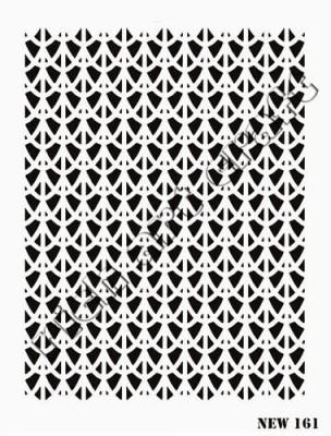 RICH - Rich Stencil - 25 x 35 cm - NEW 161