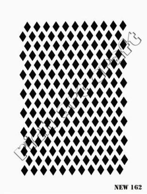 RICH - Rich Stencil - 25 x 35 cm - NEW 162