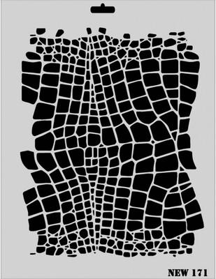 RICH - Rich Stencil - 25 x 35 cm - NEW 171