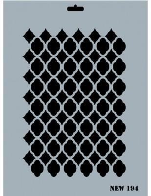 RICH - Rich Stencil - 25 x 35 cm - NEW 194