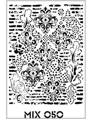 RICH - Rich Stencil - 33 x 48 cm - Mix 050