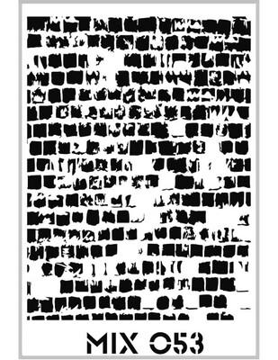 RICH - Rich Stencil - 33 x 48 cm - Mix 053