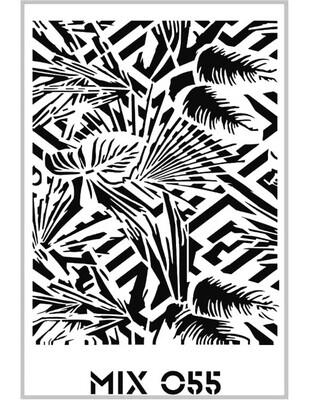 RICH - Rich Stencil - 33 x 48 cm - Mix 055