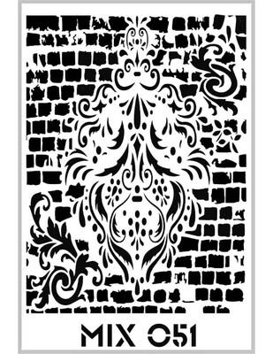 RICH - Rich Stencil - 33 x 48 cm - Mix 051