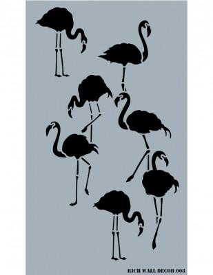 RICH - Rich Stencil - 50 x 70 cm - Wall Decor 008