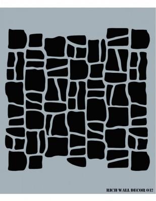 RICH - Rich Stencil - 50 x 70 cm - Wall Decor 012