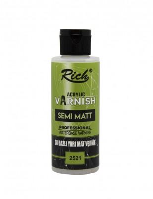 RICH - Rich Su Bazlı Yarı Mat Vernik - 120 cc