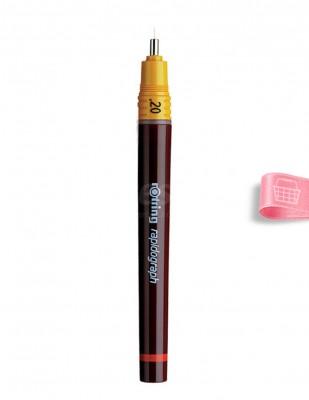 ROTRING - Rotring Isrograph Teknik Çizim Kalemi 2 mm