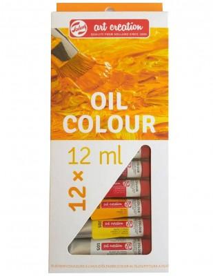 ROYAL TALENS - Royal Talens Art Creation Oil Colours Yağlı Boya Seti, 12 ml - 12 Renk