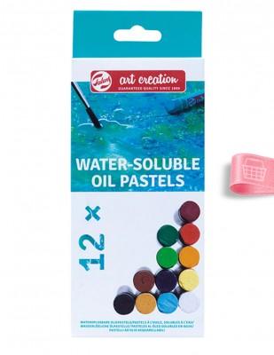 ROYAL TALENS - Royal Talens Water Soluble Oil Pastels - Suda Çözülebilir Yağlı Pastel Boya Seti - 12 Renk
