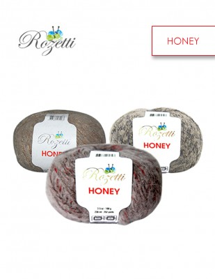 ROZETTİ - Rozetti Honey El Örgü İplikleri