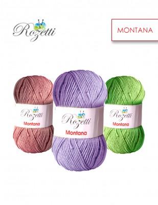 ROZETTİ - Rozetti Montana El Örgü İplikleri