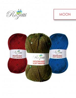 ROZETTİ - Rozetti Moonlight Soft Payette El Örgü İplikleri