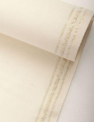 Sayılabilir Yöre Bezi Kumaşı - Altın Şerit - En 40cm