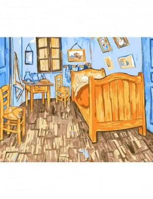 - Sayılarla Tuval Boyama Seti - 40 x 50 cm - Bedroom