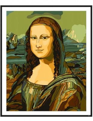 - Sayılarla Tuval Boyama Seti - 40 x 50 cm - Mona Lisa