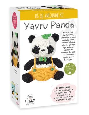 TUVA - Amigurumi Kiti - Yavru Panda - SCF05