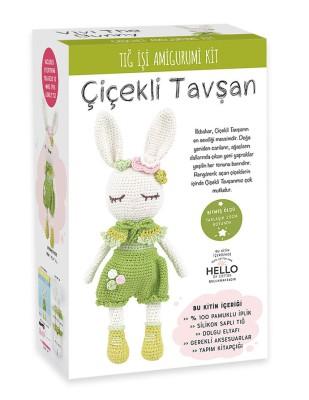 TUVA - Amigurumi Kiti - Çiçekli Tavşan - SCF15