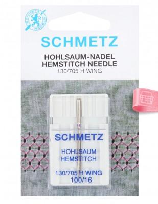 SCHMETZ - Schmetz Kenar Bastırma İğnesi 130/705 H Wıng - 100/16