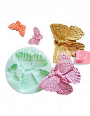 - silikon kalıp,kokulu taş,kokulu sabun,kalıp,kelebek