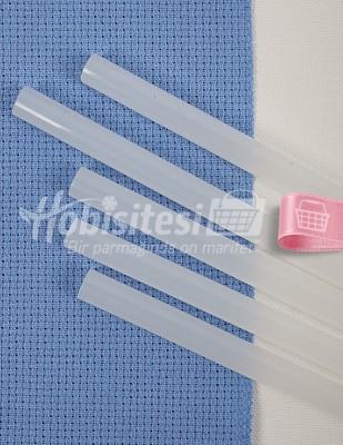 - Silikon - Yapıştırıcı Çubuk - Kalın - 3 Adet / Paket