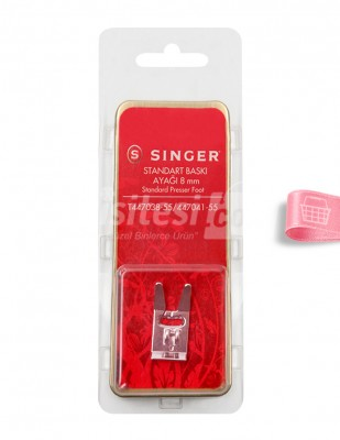 SINGER - Singer Standart Baskı Ayağı - 8 mm - T447038-55/447041-55