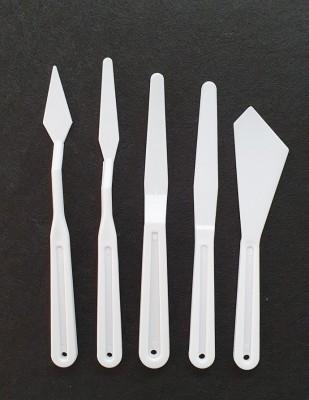 - Spatul Plastik 5 li Set