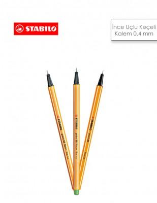 - Stabilo İnce Uçlu Keçeli Kalem0,4 mm