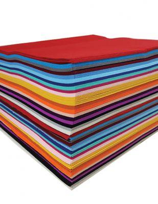 Tabaka Keçe Kumaş, Kalın Renkli, Hobi Keçe - 3 mm - 50 x 50 cm