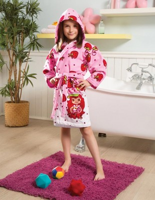 TAÇ - Taç Strawberry Shortcake Bornoz - 4, 6 Yaş