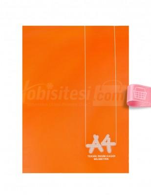 - Teknik Resim Kağıdı - Milimetrik A4 - 36 Yaprak