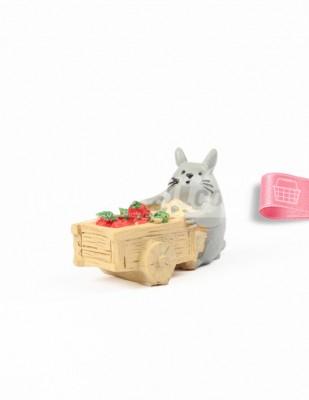 - Teraryum Malzemesi - Hamster - Gri - 4 x 4 cm - 16556