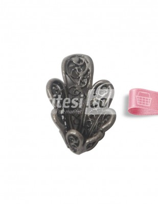 - Tespih Aparatı - Gümüş - 1,5 x 2 cm